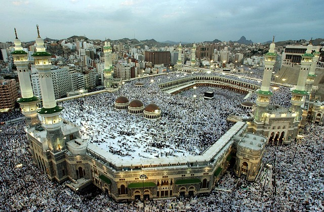 crowd of people in mecca